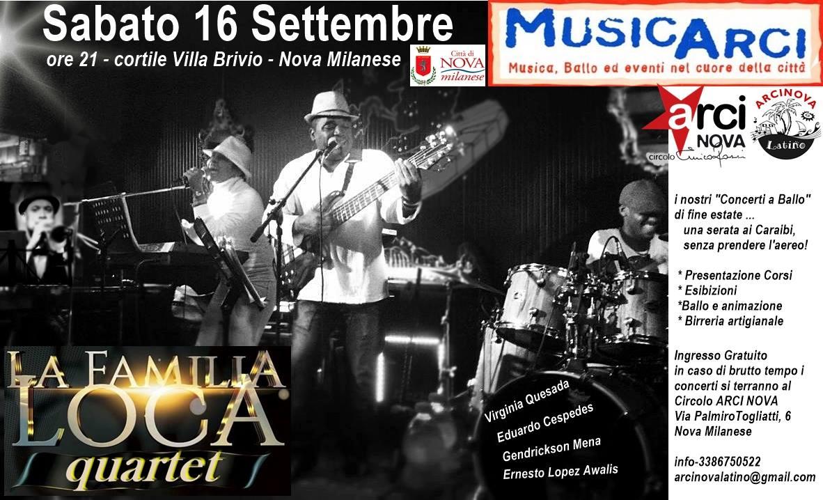 Familia Loca Quartet web 16 09 17