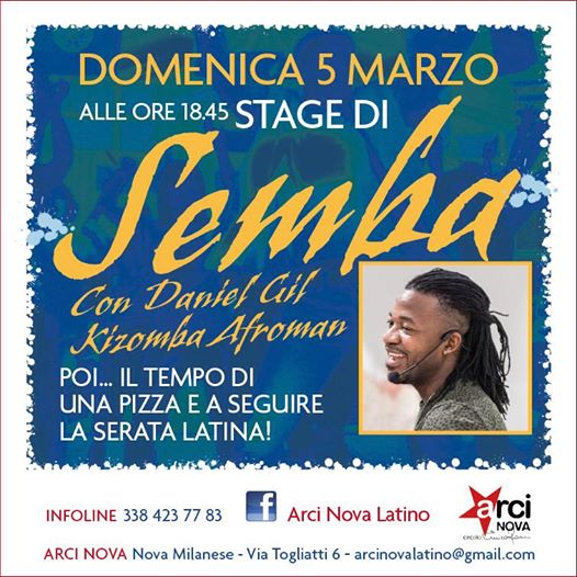 Stage Semba Gil 05 03 17