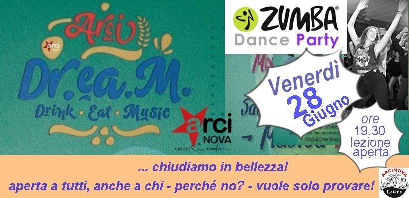 arci dream zumba web