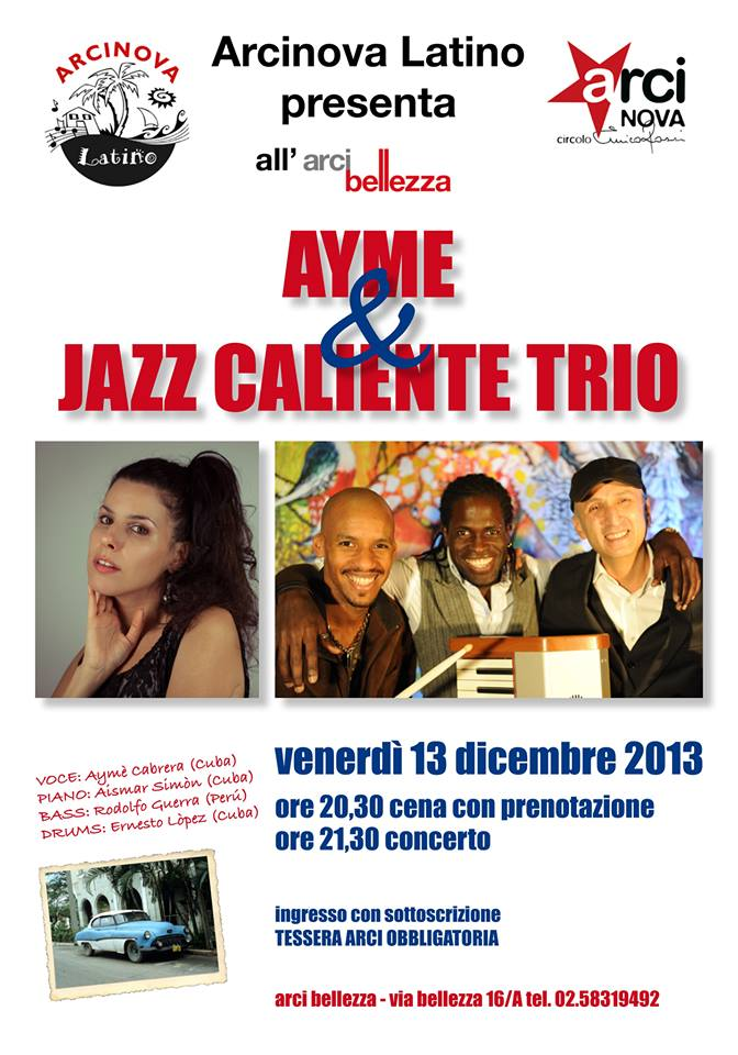 arci latin jazz al Bellezza 13-12-13