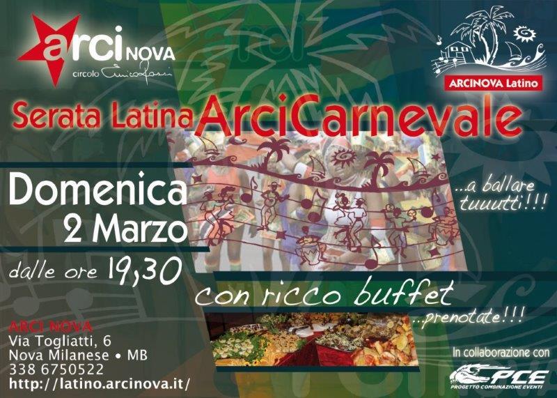 serata latinaMarzo2014